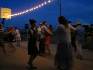 Dancing in the Idaho farmland at the wedding of two dear friends.
