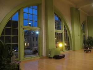 My amazing yoga studio.