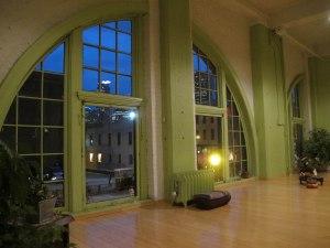 My amazing yoga studio.